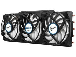 Arctic Accelero Xtreme III High-End VGA Cooler Triple 92mm PWM Fans SLI/CrossFire For NVIDIA GTX AMD Model DCACO-V15G400-BL