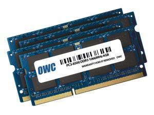 "OWC 16GB ( 4x4GB ) PC3-8500 DDR3 1066MHz SODIMM 204 Pin Memory Upgrade Kit For all Apple iMac 21.5"" and 27"" (October/2009) Models. Model OWC8566DDR3S16S"