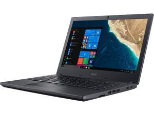 "Acer 14"" LCD TravelMate P2 P2410-G2-M 1366 x 768 Notebook Intel Quad Core i5 8th Gen 8250U 1.60 GHz 8GB DDR4 500GB HDD Windows 10 Pro 64-bit ComfyView"