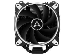 ARCTIC Freezer 34 eSports DUO Edition - Tower CPU Cooler with Push-Pull Configuration I Silent 3-Phase-Motor and wide range of regulation 200 to 2100 RPM - Includes 2 low noise PWM 120 mm Fans – White