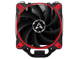 ARCTIC Freezer 34 eSports DUO Edition - Tower CPU Cooler with Push-Pull Configuration I Silent 3-Phase-Motor and wide range of regulation 200 to 2100 RPM - Includes 2 low noise PWM 120 mm Fans – Red