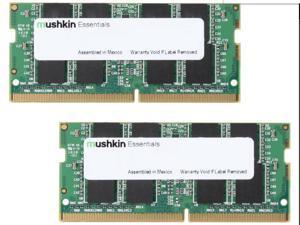 Mushkin Enhanced Essentials 64GB (2x32GB) DDR4 SODIMM PC4-2666 PC4 19200 Notebook Memory