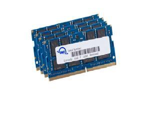 OWC 64.0GB 4x 16GB DDR4 PC4-21300 2666MHz SO-DIMM 260 Pin Memory Upgrade Kit For 2019 iMac Models and PCs Which Utilize PC4-21300 SO-DIMM. Model OWC2666DDR4S64S