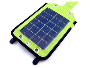 EyezOff EZYG-020 Portable Solar Charger Grey/Bright Green