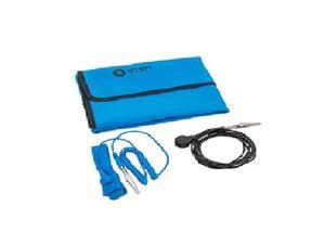 IFIXIT Portable Anti-static Mat. Protection For Sensitive Electronics. Includes a Grounding Wire/Clip and Wrist Strap. Model IFXIF1452025