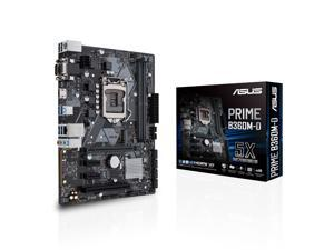 ASUS Intel LGA-1151 mATX motherboard with LED lighting, DDR4 2666MHz, M.2 support, Intel Optane memory ready, HDMI, SATA 6Gbps and USB 3.1 Gen 1