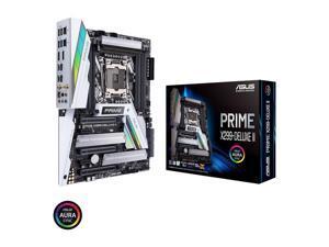 ASUS Intel LGA 2066 ATX motherboard with enhanced VRM and M.2 heatsink design, DDR4 4266 (O.C.)MHz, 802.11ac Wi-Fi, triple M.2, Type-C Thunderbolt 3 ports, Intel VROC support