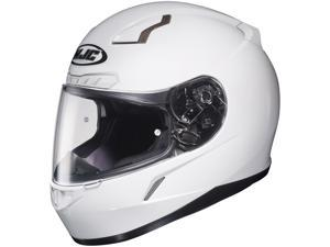 HJC CL-17plus White Full Face Motorcycle Helmet Size 4X-Large (DOT ONLY)
