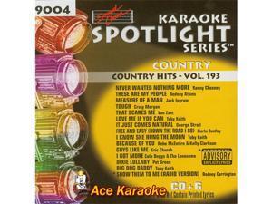 Sound Choice Spotlight CDG SCG9004 - Country Hits - Vol.193