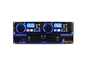 Vocopro CDG-8900 PRO Professional Dual Tray CD/CD+G Karaoke Player
