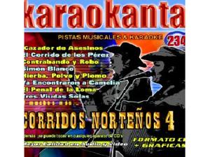 Karaokanta KAR-4234 - Corridos Norteños - IV Spanish CDG