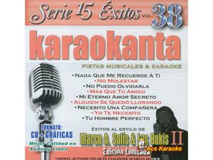 Karaokanta KAR-1538 - Marco A. Solis y Los Bukis Vol. 2 Spanish CDG