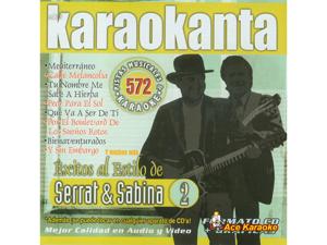 Karaokanta KAR-4572 - Serrat y Sabina 2 - Spanish CDG