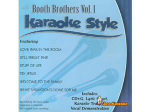 Daywind Karaoke Style CDG #3997 - Booth Brothers Vol. 1