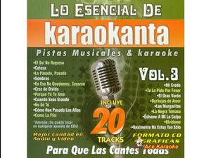 Karaokanta KAR-8503 - Lo Esencial de Karaokanta - Vol. 03 Spanish CDG