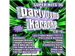 Party Tyme Karaoke CDG SYB1108 - Super Hits 16
