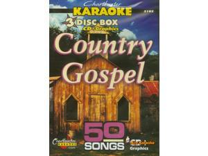 Chartbuster Karaoke CDG 3 Disc Box Set 5102 - Country Gospel