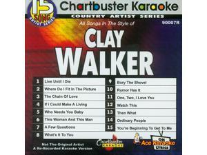 Chartbuster Artist CDG CB90007 - Clay Walker