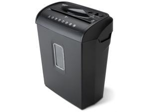 Aurora AU608MB High-Security 6-Sheet Micro-Cut Paper Credit Card Shredder with 3.5-gallon Wastebasket, 4-Minute Continuous Running Time, Security Level P-4