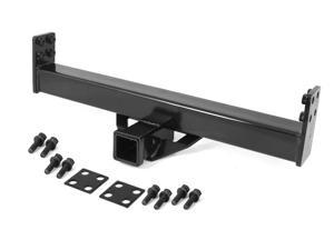 Rugged Ridge 11580.03 2-Inch Hitch For XHD Rear Bumper, 76-06 Jeep CJ And Wrangler