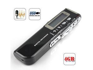 Digital Mini REC Voice Recorder DICTAPHONE 4GB Memory Record Mp3 player VOR