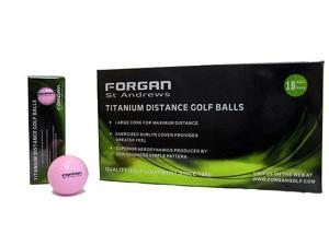 18 Forgan of St Andrews PINK Distance Golf Balls