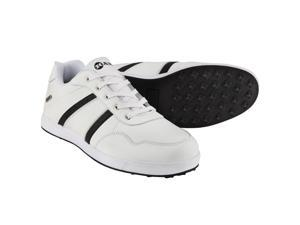 Ram FX Comfort Mens Waterproof Golf Shoes - White / Black 11