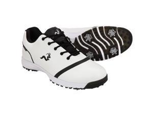 Woodworm Tour V3 Mens Waterproof Golf Shoes - White / Black 13