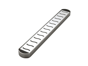 Miu France 3527 Stainless Steel 15inch Magnetic Knife Bar- Silver