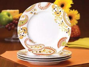 Rachael Ray Set of 4 Paisley ... & Rachael Ray - Newegg.com