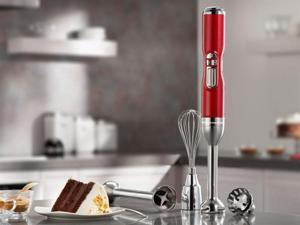 KitchenAid Pro Line Cordless Immersion Blender, Candy Apple Red