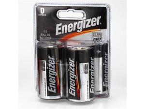 Energizer D-Cell 4-Pack -