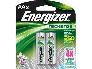 Energizer Nh15Bp-2 Aa Nickel Rechargeable Batteries (2-Pack) -