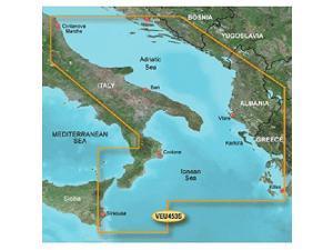 Garmin VEU453S - Adriatic Sea South Coast - SD Card