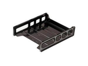 "Officemate Letter Tray Front Load 10-1/2""x12-1/2""x2-7/8"" Smoke 21031"