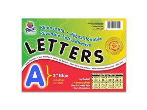 Pacon Corporation PAC51653 Self-Adhesive Letter- Fade Resistant- 2in.- 159 Characters- Blue