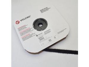 "VELCRO® Brand Loop 1000 3/4"" Black Pressure Sensitive Adhesive 72 - 25 Yard Roll"