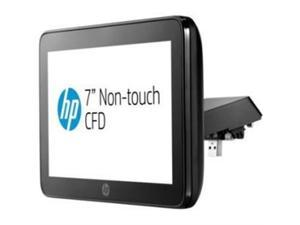 HP P5A56AA Customer Facing Display Top With Arm - Customer Display - 7 Inch - 250 Cd/M2 - Usb - Usb