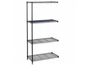 Safco 5292BL Four Shelves - Industrial Add-On Unit