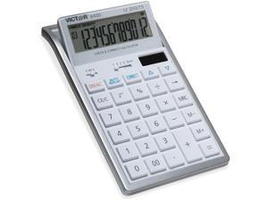 Victor 6400 Professional Desktop Calculator with Auto Replay, Check & Correct