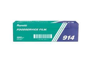 "Reynolds Wrap PVC Film Roll w/Cutter Box 18"" x 1000 ft Clear 904"