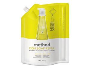 Dish Pump Refill, Lemon Mint, 36 oz Pouch