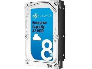 Seagate Enterprise Capacity 3.5'' HDD 8TB 7200 RPM 512e SATA 6Gb/s 256MB Cache Secure Model Internal Hard Drive ST8000NM0105