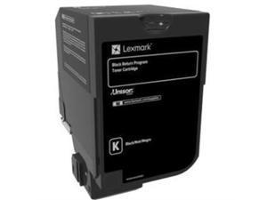 Lexmark 74C10K0 Return Program Toner Cartridge - Black