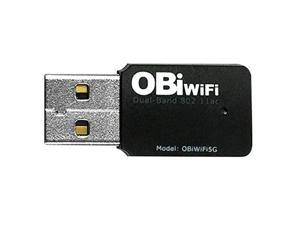 Obihai OBIWIFI5G 2.4 / 5 GHz Wireless 802.11AC Adapter for OBi200, OBi202, OBi1022, OBi1032, OBi1062