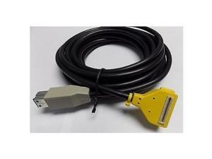 VeriFone 23998-05-R USB to ECR 12V Pwr-Usb 5M Rohs for MX870 - Yellow
