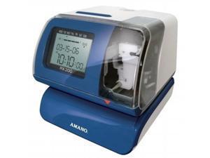 Amano PIX200 Amano PIX-200 Atomic Time Clock & Date Stamp