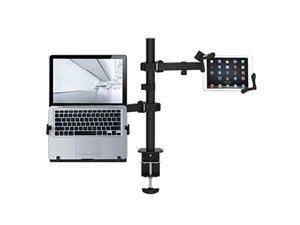 CTA Digital PAD-HLTAM Articulating Height-Adjustable Laptop and Tablet Arm Mount