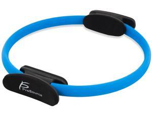 "Prosource Fit Pilates Resistance Ring 14"" Dual Grip Handles for Toning and Fitness"