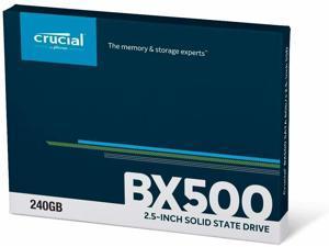 GP Xtreme Crucial BX500 240GB 3D NAND SATA 2.5 Inch Internal PC Laptop SSD CT240BX500SSD1